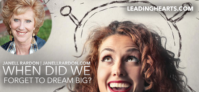 When Did We Forget to Dream Big?