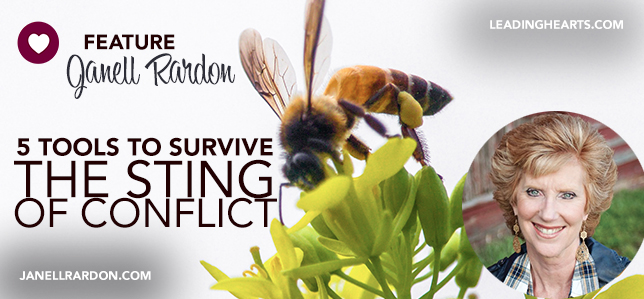 5 TOOLS TO SURVIVE THE STING OF CONFLICT