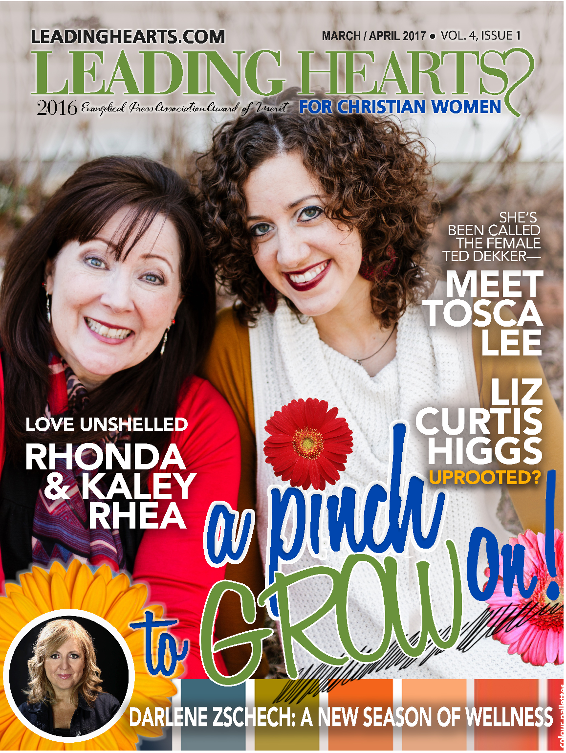 The 2017 April Issue of  A Pinch to Grow On is Here!