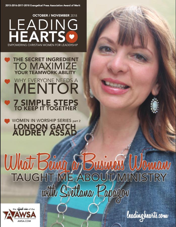 Leading Hearts Magazine October/November 2019
