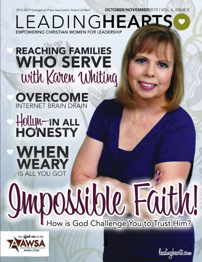 New ISSUE—Learn to Lead with Impossible Faith!