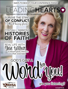 Available Now—Leading Hearts February 2020 Issue—God's Got a Word for YOU!