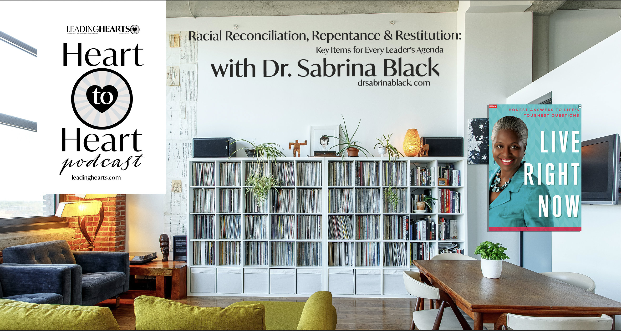 Leading Hearts: Heart to Heart Podcast with Dr. Sabrina Black