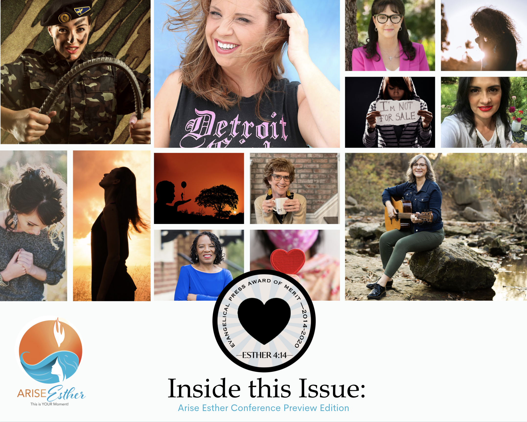 Arise Esther Conference Preview Edition of Leading Hearts Available NOW! Kerri Pomarolli Arise to Laughter