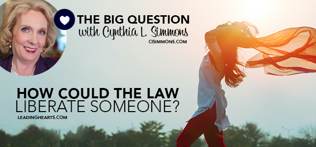 THE BIG QUESTION with Cynthia L. Simmons